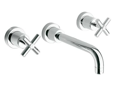 Wall-mounted washbasin tap with aerator FUTURE | Wall-mounted washbasin tap