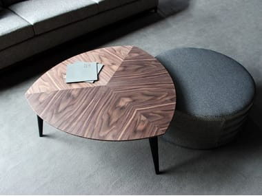 Low wooden coffee table STOCKHOLM | Coffee table