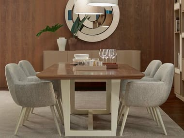 Wooden dining table ROME | Table