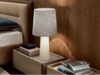 Fabric table lamp BRONX