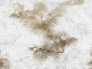 Carta da parati effetto muro per bagno CLOUDY