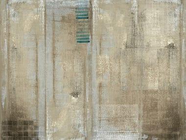 Bathroom wallpaper INDIAN BLUR