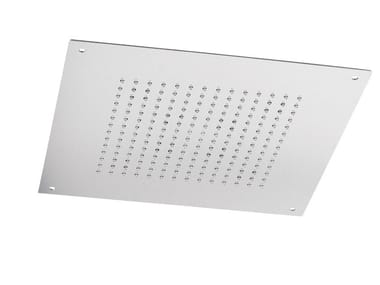 Ceiling mounted built-in stainless steel overhead shower with anti-lime system SQ0-01 | Overhead shower