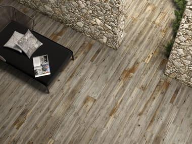 Pavimento in gres porcellanato effetto legno LEGNI HIGH TECH | Quercia tropicale
