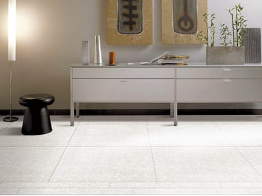 Full-body porcelain stoneware flooring with stone effect CLASSIC