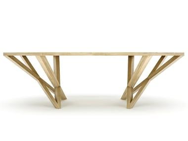 Solid wood writing desk VELVET
