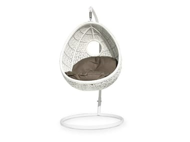 Synthetic Fibre Garden Suspended Chair ALTEA | Garden Hanging Chair