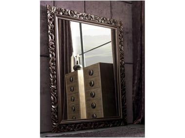 Framed freestanding rectangular mirror GASTON | Freestanding mirror