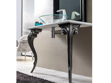 Marble console sink ANTARES | Console sink