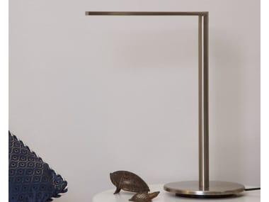 LED nickel desk lamp MATRIX LED S