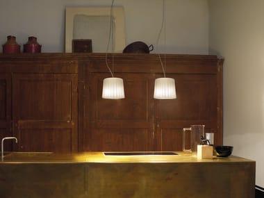 Luminária pendente de vidro soprado CLOTH SP D2