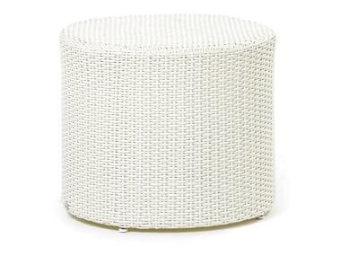Mesa de centro redonda de plástico ARENA | Mesa de centro