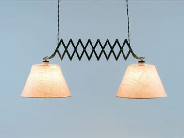 Fabric pendant lamp LONDON C