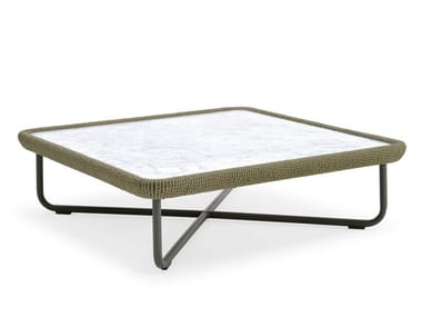 Coffee table with marble top BABYLON | Coffee table