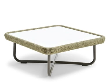 Coffee table with HPL top BABYLON | Square coffee table