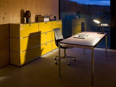 Modular metal office shelving USM HALLER STORAGE FOR HOME OFFICE | Office shelving