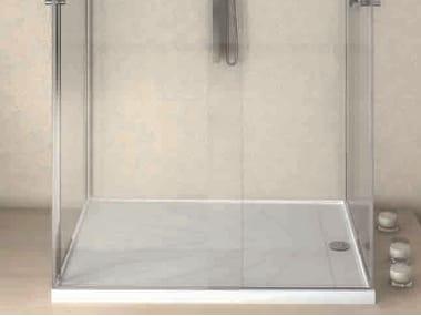 Rectangular Silestone® shower tray FRECCIA