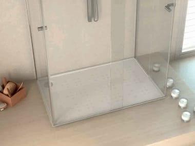 Rectangular Silestone® shower tray BUBBLES