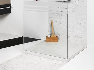 Silestone® shower tray DOPPIO