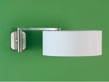Adjustable nickel wall lamp MATRIX A