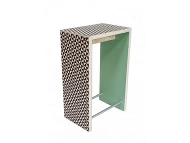 Rectangular wooden high table NORDICO VERACE | High table