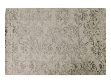 Patterned rectangular rug VERSAILLES