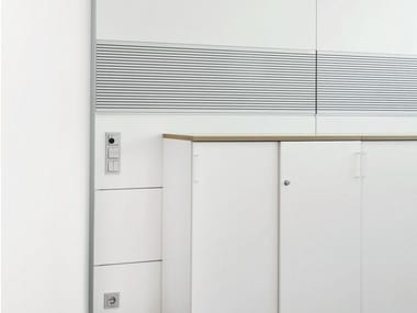 Acoustic office partition HRW