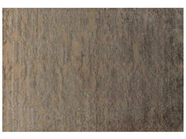 Patterned rectangular rug VERSAILLES RELIEF