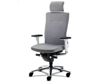 Executive chair with 5-spoke base with armrests LAMIGA | Executive chair