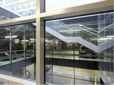 Muro cortina de vidrio WICTEC 50FP / WICTEC 60FP