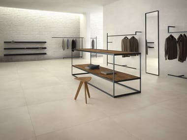 Porcelain stoneware flooring with resin effect CALCE