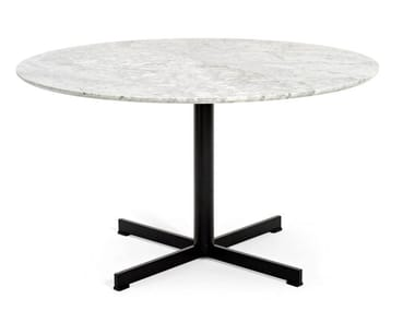 Round marble table SUMMER SET | Table