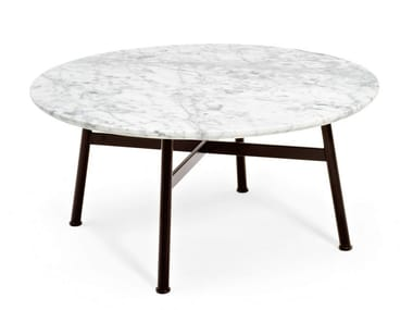 Round marble coffee table SUMMER SET | Coffee table