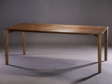 Rectangular wooden table FIN | Table
