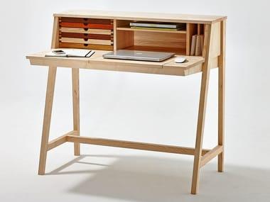Secrétaire / Coiffeuse en bois SIXtematic BELLE - 2:1