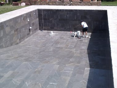 In-Ground cement swimming pool In-Ground swimming pool