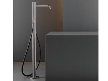 Free-standing mixer for bathtub with hand shower MIL 19