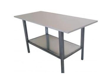 Galvanized steel workbench CAST