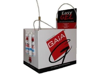 Chemical barrier anti-humidity system EASY GEL