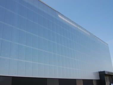 Translucent plastic laminate wall panel LEXAN™ THERMOCLICK™ Sheet