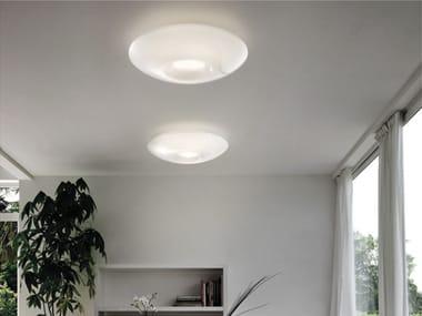 Plafoniere Vetro Colorato : Lampade da soffitto in vetro di murano archiproducts