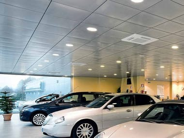 Panel para techos suspendidos de acero galvanizado STAR METAL LAY-IN 15