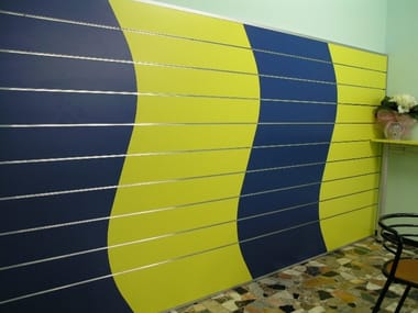 Coatings for shops Wall tiles