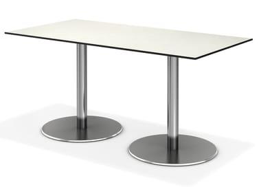 Rectangular contract table CENTRE   Rectangular table