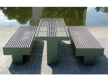 Rectangular Table for public areas COMFONY 800 | Table for public areas