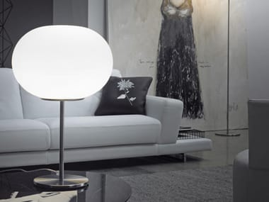 Blown glass table lamp LUCCIOLA LT 30 P