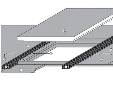 Fireproof inspection chamber for suspended ceiling ITP FIRE PLUS EI 13 - REI30 - REI60