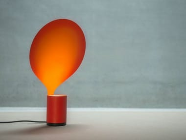 LED direct-indirect light metal table lamp BALLOON