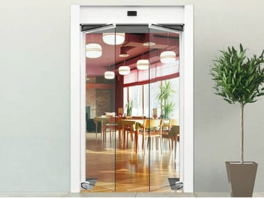 Automatic entry door GBF1500