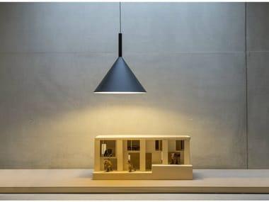 Lámpara colgante de metal con luz directa FUNNEL | Lámpara colgante